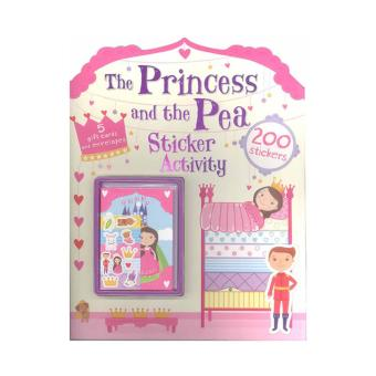 WS Sticker Activity-Princess & The Pea