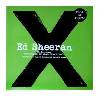 X by Ed Sheeran Vinyl LP Price Philippines