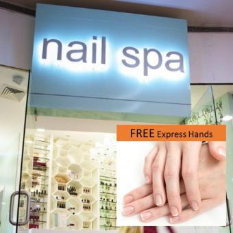 Nail Spa Php 3000 Cash Voucher with FREE Express Hands