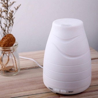 100ml Essential Oil Diffuser,Portable Ultrasonic Aroma Cool Mist Air Humidifier Purifiers With 7 Color LED Lights Changing For Home Office???US??? - intl Price Philippines