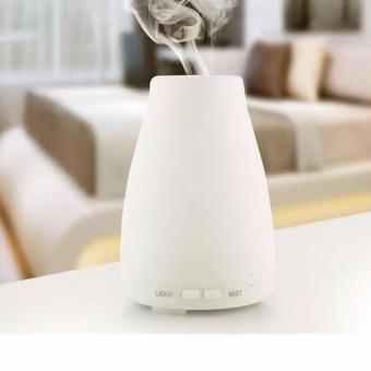 100ml Essential Oil Diffuser,Portable Ultrasonic Aroma Cool MistAir Humidifier Purifiers with 7 Color LED Lights Changing for HomeOffice(White) - intl - 5