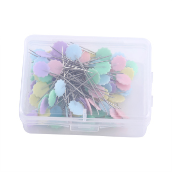 100pcs DIY Sewing Patchwork pins Quilting tool Flover 2 - intl
