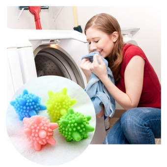 10Pcs PVC Soft Rubber Washing Dryer Balls Laundry Clothes FabricSoftener Balls Cleaning Shirts Smoothly Drying Washer Accessory Price Philippines