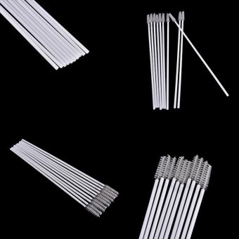 10pcs Stainless Steel Straw Reusable Washable Cleaner CleaningBrush - intl - 2