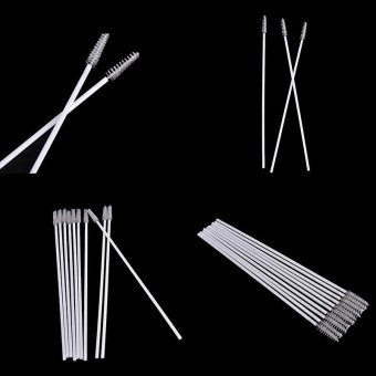 10pcs Stainless Steel Straw Reusable Washable Cleaner CleaningBrush - intl - 5