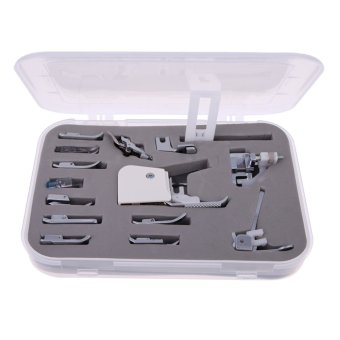 15pcs Sewing Machine Presser Walking Feet Foot Kit Set