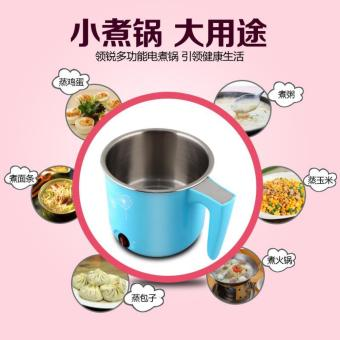 1.6L Multifunctional Electric Portable Cooking Pot Stainless Steel