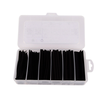 170Pcs(6 sizes) 2:1 Heat Shrink Tubing