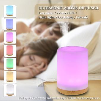 200ml Cool Mist Humidifier 7 Colors LED light Ultrasonic AromaEssential Oil Diffuser Air Humidifier for Home Office Bedroom SPAYoga - intl Price Philippines