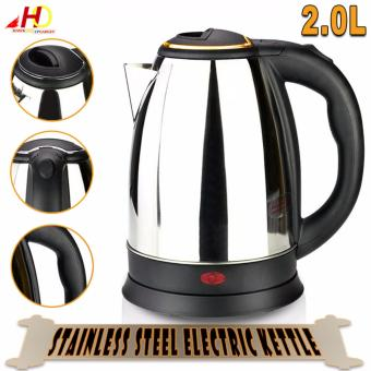 2.0L Stainless Steel Electric Kettle 1500W