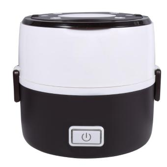 220V 2 Layers Electric Heated Lunch Box Set Multifunctional FoodWarmer(Coffee) - intl - 4
