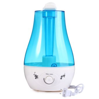 25W Tabletop 3L Ultrasonic Air Humidifier Mini Home Household Air Purifier with LED Lamp Office Air Freshener