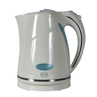 3D PK3078 1.7L Electric Kettle (White) Price Philippines