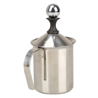 400ML Stainless Steel Double Mesh Milk Frother Milk Foamer MilkCreamer Price Philippines