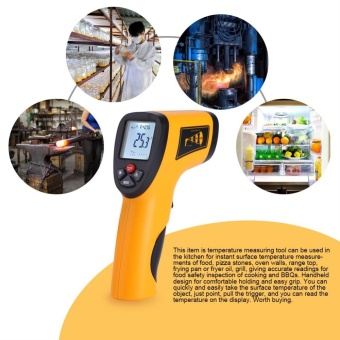 -50~550? LCD Digital Laser Infrared Thermometer Handheld Temperature Detector Measuring Tool - intl