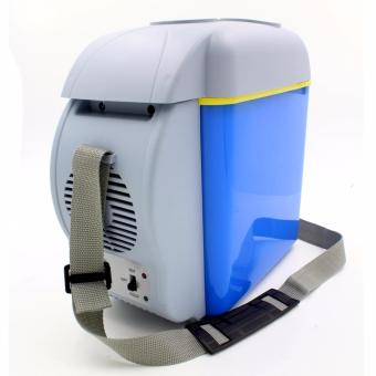 7.5L Mini Fridge Cooler and Warmer Auto Car Portable Electronic Refrigerator