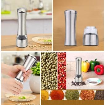 AiFree Portable Manual Salt Spice Pepper Grinder Muller MillKitchen Seasoning Grinding Tool Gadget Cooking Meat Restaurants -intl - 5