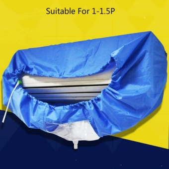Air Conditioner Waterproof Cleaning Cover For DIY Washing Household Cleaning Tools - intl