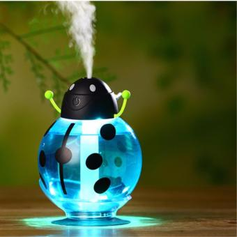 Air Humidifier(BLUE) With LED Light And Free One Bottle Essential Oil Beatles Humidifier