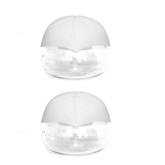Air Revitalizer With Led Light Set Of 2 (White)