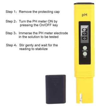 Allwin Digital PH Meter, PH Tester With ATC,0.02 PH High Accuracy,0.00-14.00 PH Measurement Range,Water Quality Tester,Auto Calibration - intl - 5
