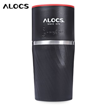 ALOCS CW - K16 4 in 1 Stainless Steel Manual Coffee Machine Camping Home Grinding Equipment - intl Price Philippines