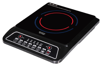 American Heritage AHIC-6174 Induction Cooker (Black) with FreeInduction Pot