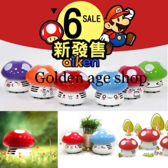 AS SEEN ON TV JK-8 PAlight Cute Mini Mushroom Corner Desk TableDust Vacuum Cleaner Sweeper