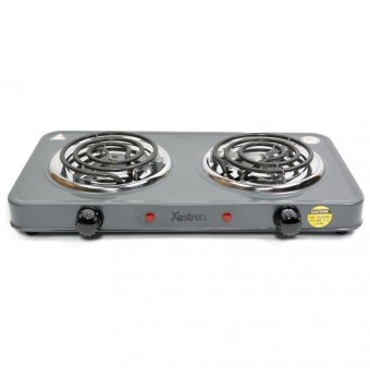 Astron ES-271 Electric Stove Double Burner (Gray)