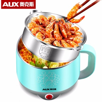 AUX Quick Heating Stainless Steel Food Steamer (Turquoise)