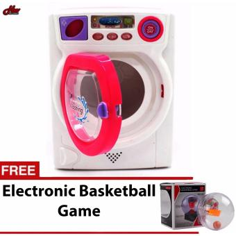 Baby Kids Mini Simulation Appliance Washing Machine Educational Pretend Play Housekeeping Toy Gift