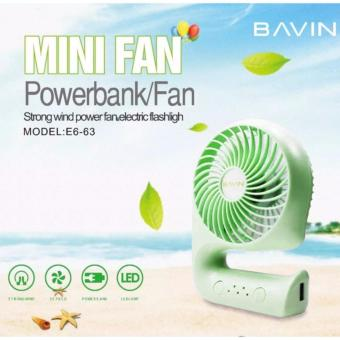 Bavin E663 Portable mini Powerbank Fan Price Philippines