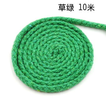 CHH handmade DIY braided cotton rope multi-color cotton rope
