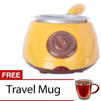 Chocolatiere (Yellow/Brown) with Free Travel Mug - picture 2