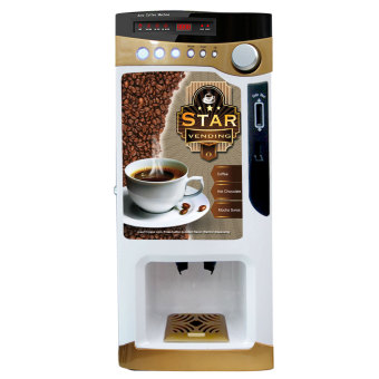 Chong Cafe Star Vending Machine (Gold) - Chong Cafe Phils