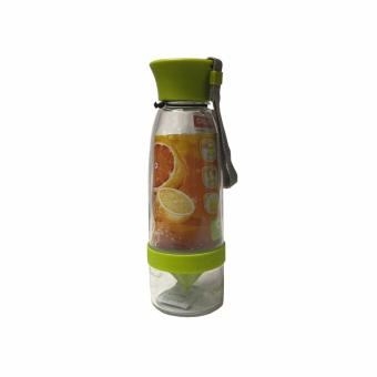 Citrus Juicer Infuser Drinking Water Bottle (Green)