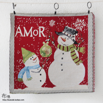 Cloth Christmas series high-end sofa cushion