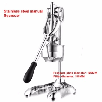 Commercial BIG Heavy Duty Stainless Steel Manual Vegetable and Fruit Juicer for Orange Lemon Grapefruit Lime Nutrition Refreshment Squeezer Extractor and Lemon Juice Business Opportunity - 4