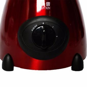 D&D TX-6606 Stainless Multi-Function Glass Jar Blender (Red) - 4