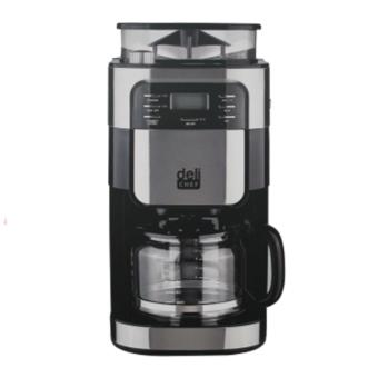 Deli Chef Grind & Brew Coffee Maker TGS-CM1025GS 1.5L(Black/Silver)