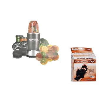 Demotech 12 Piece Set Nutri Super Bullet Power Blender with coppergloves Price Philippines