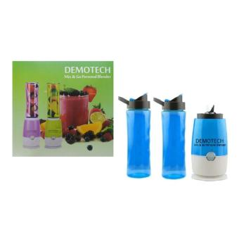 Demotech Mix & Go Personal Blender (Blue) Price Philippines
