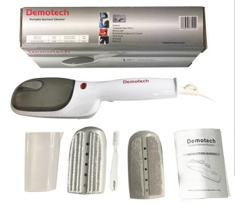 Demotech Portable Garment Steamer (White/Gray)