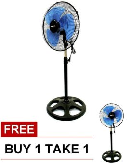 "Denki 16"" Stand Fan BUY 1 TAKE 1(Blue) Price Philippines"