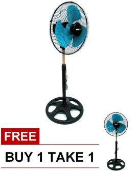 "Denki 16"" Stand Fan BUY 1 TAKE 1(Green) Price Philippines"
