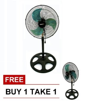 "Denki DISF-16 16"" Metal Blade Stand Fan BUY 1 TAKE 1 Price Philippines"