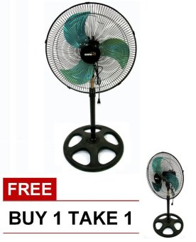 "Denki DISF-18 18"" Metal Blade Stand Fan BUY 1 TAKE 1 Price Philippines"