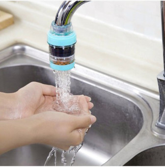 Durable Home Tap Water Purifier Kitchen Faucet Water Filter (Blue ...