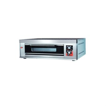 Durafours 1 Deck Gas Oven (Silver)