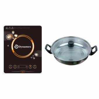 Dynamex DYMX034 induction cooker with sensor touch control (black)